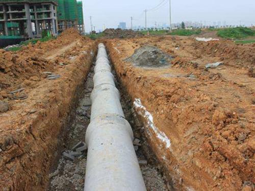 廊坊市永清县建设局经济适用房污水管道连通武隆路建设工程