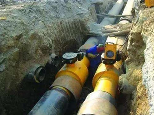 廊坊市广炎供热有限公司供热直管到户管道维修工程
