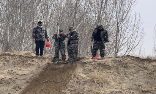 三骐工作组圆满完成征迁调查,  白沟河项目4月29号正式开工 !